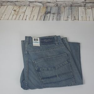 Calvin Klein low rise straight jeans
